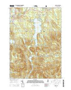 Conway New Hampshire Current topographic map, 1:24000 scale, 7.5 X 7.5 Minute, Year 2015 from New Hampshire Map Store