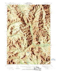Crawford Notch New Hampshire Historical topographic map, 1:62500 scale, 15 X 15 Minute, Year 1946