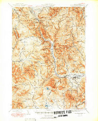 Crawford Notch New Hampshire Historical topographic map, 1:62500 scale, 15 X 15 Minute, Year 1950