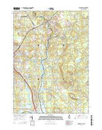 Dover East New Hampshire Current topographic map, 1:24000 scale, 7.5 X 7.5 Minute, Year 2015 from New Hampshire Map Store