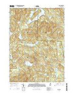 Dublin New Hampshire Current topographic map, 1:24000 scale, 7.5 X 7.5 Minute, Year 2015 from New Hampshire Map Store