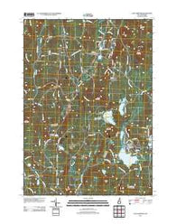 East Lempster New Hampshire Historical topographic map, 1:24000 scale, 7.5 X 7.5 Minute, Year 2012