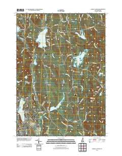 Enfield Center New Hampshire Historical topographic map, 1:24000 scale, 7.5 X 7.5 Minute, Year 2012