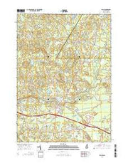 Epping New Hampshire Current topographic map, 1:24000 scale, 7.5 X 7.5 Minute, Year 2015 from New Hampshire Maps Store