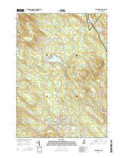Farmington New Hampshire Current topographic map, 1:24000 scale, 7.5 X 7.5 Minute, Year 2015 from New Hampshire Maps Store