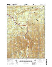 Franconia New Hampshire Current topographic map, 1:24000 scale, 7.5 X 7.5 Minute, Year 2015 from New Hampshire Maps Store