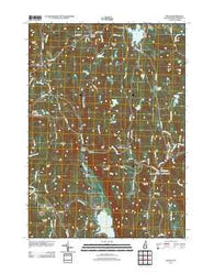 Gilsum New Hampshire Historical topographic map, 1:24000 scale, 7.5 X 7.5 Minute, Year 2012