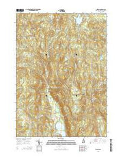 Gilsum New Hampshire Current topographic map, 1:24000 scale, 7.5 X 7.5 Minute, Year 2015 from New Hampshire Maps Store