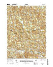 Goffstown New Hampshire Current topographic map, 1:24000 scale, 7.5 X 7.5 Minute, Year 2015 from New Hampshire Maps Store