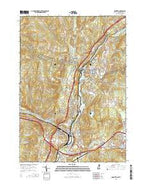 Hanover New Hampshire Current topographic map, 1:24000 scale, 7.5 X 7.5 Minute, Year 2015 from New Hampshire Map Store