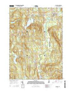 Hillsboro New Hampshire Current topographic map, 1:24000 scale, 7.5 X 7.5 Minute, Year 2015 from New Hampshire Map Store