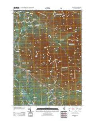 Jefferson New Hampshire Historical topographic map, 1:24000 scale, 7.5 X 7.5 Minute, Year 2012