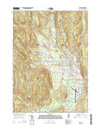 Keene New Hampshire Current topographic map, 1:24000 scale, 7.5 X 7.5 Minute, Year 2015 from New Hampshire Map Store