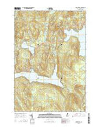Lake Francis New Hampshire Current topographic map, 1:24000 scale, 7.5 X 7.5 Minute, Year 2015 from New Hampshire Map Store