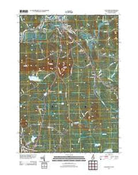 Lancaster New Hampshire Historical topographic map, 1:24000 scale, 7.5 X 7.5 Minute, Year 2012
