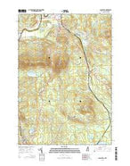 Lancaster New Hampshire Current topographic map, 1:24000 scale, 7.5 X 7.5 Minute, Year 2015 from New Hampshire Map Store