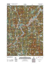 Lisbon New Hampshire Historical topographic map, 1:24000 scale, 7.5 X 7.5 Minute, Year 2012