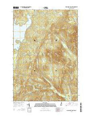 Magalloway Mountain New Hampshire Current topographic map, 1:24000 scale, 7.5 X 7.5 Minute, Year 2015 from New Hampshire Maps Store