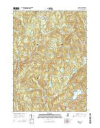 Marlow New Hampshire Current topographic map, 1:24000 scale, 7.5 X 7.5 Minute, Year 2015 from New Hampshire Map Store
