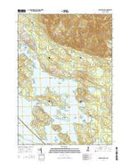 Melvin Village New Hampshire Current topographic map, 1:24000 scale, 7.5 X 7.5 Minute, Year 2015 from New Hampshire Map Store