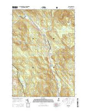 Milan New Hampshire Current topographic map, 1:24000 scale, 7.5 X 7.5 Minute, Year 2015 from New Hampshire Maps Store