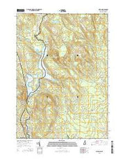 Milton New Hampshire Current topographic map, 1:24000 scale, 7.5 X 7.5 Minute, Year 2015 from New Hampshire Maps Store