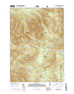 Mount Carrigain New Hampshire Current topographic map, 1:24000 scale, 7.5 X 7.5 Minute, Year 2015 from New Hampshire Map Store