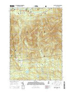 Mount Chocorua New Hampshire Current topographic map, 1:24000 scale, 7.5 X 7.5 Minute, Year 2015 from New Hampshire Map Store