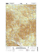 Mount Dartmouth New Hampshire Current topographic map, 1:24000 scale, 7.5 X 7.5 Minute, Year 2015 from New Hampshire Map Store