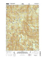 Mount Kineo New Hampshire Current topographic map, 1:24000 scale, 7.5 X 7.5 Minute, Year 2015 from New Hampshire Map Store