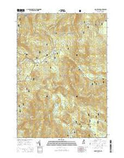 Mount Kineo New Hampshire Current topographic map, 1:24000 scale, 7.5 X 7.5 Minute, Year 2015 from New Hampshire Maps Store