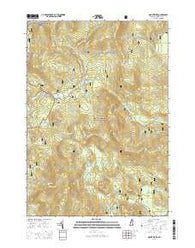 Mount Kineo New Hampshire Current topographic map, 1:24000 scale, 7.5 X 7.5 Minute, Year 2015