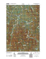 Mount Moosilauke New Hampshire Historical topographic map, 1:24000 scale, 7.5 X 7.5 Minute, Year 2012