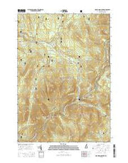 Mount Moosilauke New Hampshire Current topographic map, 1:24000 scale, 7.5 X 7.5 Minute, Year 2015 from New Hampshire Maps Store