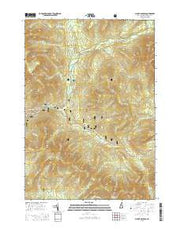Mount Osceola New Hampshire Current topographic map, 1:24000 scale, 7.5 X 7.5 Minute, Year 2015 from New Hampshire Maps Store