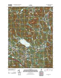 New London New Hampshire Historical topographic map, 1:24000 scale, 7.5 X 7.5 Minute, Year 2012
