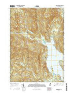 Newfound Lake New Hampshire Current topographic map, 1:24000 scale, 7.5 X 7.5 Minute, Year 2015 from New Hampshire Map Store