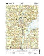 Newmarket New Hampshire Current topographic map, 1:24000 scale, 7.5 X 7.5 Minute, Year 2015 from New Hampshire Map Store