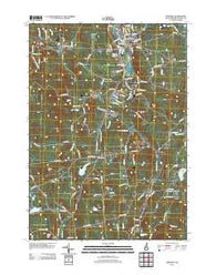 Newport New Hampshire Historical topographic map, 1:24000 scale, 7.5 X 7.5 Minute, Year 2012