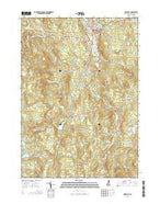 Newport New Hampshire Current topographic map, 1:24000 scale, 7.5 X 7.5 Minute, Year 2015 from New Hampshire Map Store