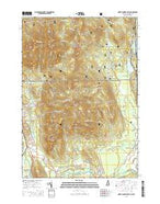 North Conway East New Hampshire Current topographic map, 1:24000 scale, 7.5 X 7.5 Minute, Year 2015 from New Hampshire Map Store