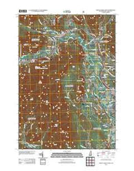 North Conway West New Hampshire Historical topographic map, 1:24000 scale, 7.5 X 7.5 Minute, Year 2012
