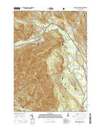 North Conway West New Hampshire Current topographic map, 1:24000 scale, 7.5 X 7.5 Minute, Year 2015 from New Hampshire Map Store