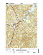 Northfield New Hampshire Current topographic map, 1:24000 scale, 7.5 X 7.5 Minute, Year 2015 from New Hampshire Map Store