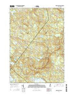 Parker Mountain New Hampshire Current topographic map, 1:24000 scale, 7.5 X 7.5 Minute, Year 2015 from New Hampshire Map Store