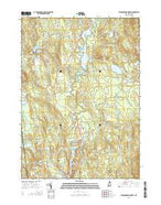 Peterborough North New Hampshire Current topographic map, 1:24000 scale, 7.5 X 7.5 Minute, Year 2015 from New Hampshire Map Store