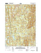 Peterborough South New Hampshire Current topographic map, 1:24000 scale, 7.5 X 7.5 Minute, Year 2015 from New Hampshire Map Store