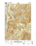 Piermont New Hampshire Current topographic map, 1:24000 scale, 7.5 X 7.5 Minute, Year 2015 from New Hampshire Map Store