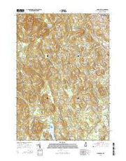 Pinardville New Hampshire Current topographic map, 1:24000 scale, 7.5 X 7.5 Minute, Year 2015 from New Hampshire Maps Store