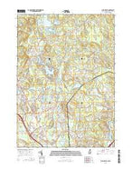 Salem Depot New Hampshire Current topographic map, 1:24000 scale, 7.5 X 7.5 Minute, Year 2015 from New Hampshire Map Store